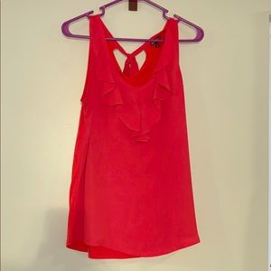 Sleeveless blouse with tie back neck